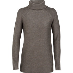 Icebreaker Waypoint Roll Neck Sweater Women toast heather